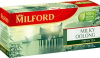 """Чай зеленый """"Milford. Молочный улун"""" (20 пакетиков)"""