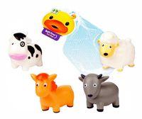 """Набор игрушек для купания """"Fun toys"""" (4 шт.)"""