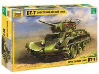 Советский легкий танк БТ-7 (масштаб: 1/35)