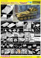 "Зенитная самоходная установка ""Sd.Kfz.140 Flakpanzer 38(t) Auf (Sf) Ausf.L Gepard"" (масштаб: 1/35)"
