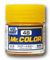Краска Mr. Color (clear yellow, C48)