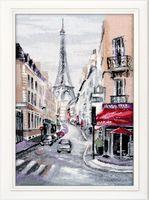 """Вышивка крестом """"Сердце Парижа"""" (220x330 мм)"""