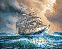 "Картина по номерам ""Летний шторм"" (400х500 мм)"
