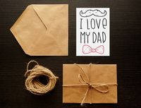"Открытка ""I love my dad"" (art. 102)"