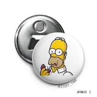 "Открывалка-магнит ""Гомер Симпсон"" (арт. 002)"