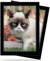 "Протекторы ""Grumpy Cat Flowers"" (66х91 мм; 50 шт.)"