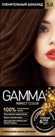 """Крем-краска для волос """"Gamma perfect color"""" (тон: 5.0, пленительный шоколад)"""