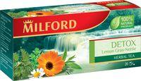 """Чай зеленый """"Milford. Detox"""" (20 пакетиков)"""