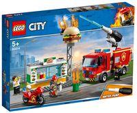 """LEGO City """"Пожар в бургер-кафе"""""""