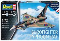 """Сборная модель """"Многоцелевой истребитель Eurofighter Typhoon RAF"""" (масштаб: 1/72)"""
