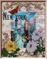 """Вышивка бисером """"Вокруг света. Нью Йорк"""""""