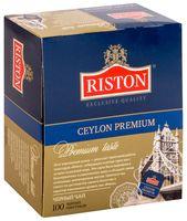 """Чай черный """"Riston. Ceylon Premium"""" (100 пакетиков)"""