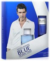 """Подарочный набор """"Blue seduction for Men"""" (туалетная вода, бальзам после бритья)"""