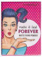 "Компактная пудра для лица ""Matte Fixing Powder"" (тон: прозрачный)"
