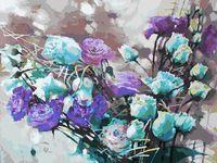 """Картина по номерам """"Ноктюрн с розами"""" (300х400 мм)"""