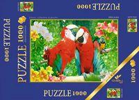 """Пазл """"В мире животных. Два попугая"""" (1000 элементов)"""