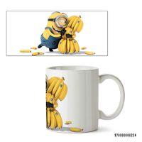 "Кружка ""Миньон с бананами"""