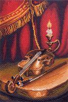"""Канва с нанесенным рисунком """"Скрипка"""""""