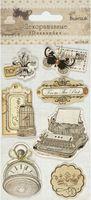 Наклейки объемные декоративные (7 шт.; арт. CP-28)