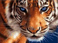 "Картина по номерам ""Взгляд синих глаз"" (300х400 мм)"