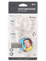 """Набор детских зубных щёток-тренажёров """"Tooth brushes. Pink"""" (2 шт.; арт. 20017)"""