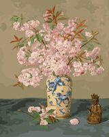 "Картина по номерам ""Натюрморт. Японская сакура"" (400х500 мм)"