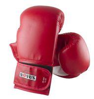 Перчатки боксёрские LTB-16301 (S/M; красные; 10 унций)