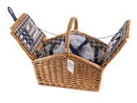 Набор посуды для пикника в корзине (на 2 персоны; арт. 10593170)