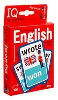 Умные игры с картами. Английские неправильные глаголы. Уровень 1
