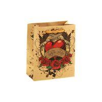 """Пакет бумажный подарочный """"Признание"""" (11х14х6 см; арт. 10772278)"""