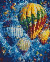 "Картина по номерам ""Воздушные шары"" (400х500 мм)"