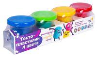 """Тесто для лепки """"Тесто-пластилин"""" (4 цвета; арт. TA1008V)"""