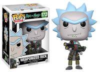 """Фигурка """"Rick and Morty. Weaponized Rick"""""""