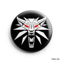 """Значок маленький """"Ведьмак. Волк"""" (арт. 203)"""