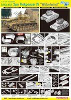 "Средний танк ""Sd.Kfz.161/4 2cm Flakpanzer IV Wirbelwind"" (масштаб: 1/35)"
