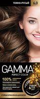 """Крем-краска для волос """"Gamma perfect color"""" (тон: 6.0, темно-русый)"""