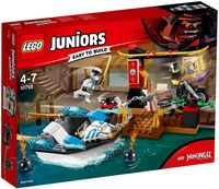 "LEGO Juniors ""Погоня на моторной лодке Зейна"""