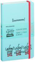 """Записная книжка Молескин """"Toy Story"""" нелинованная (большая; твердая голубая обложка)"""