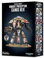 Warhammer 40.000. Imperial Knights. Knight Preceptor Canis Rex (54-15)