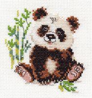 "Вышивка крестом ""Панда"""