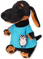 """Мягкая игрушка """"Ваксон в футболке с совой"""" (29 см)"""