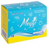 """Тампоны """"Meggi Applicator Super"""" (10 шт.)"""