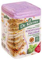 """Хлебцы кукурузно-рисовые """"Dr. Korner. С прованскими травами"""" (100 г)"""