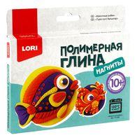 """Набор для лепки из полимерной глины """"Магниты. Красочные рыбки"""""""