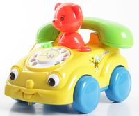 """Музыкальная игрушка """"Телефон с мишкой"""""""