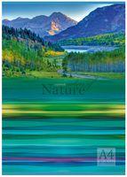 """Тетрадь в клетку """"Краски природы"""" (А4; 80 листов; арт. 1236)"""
