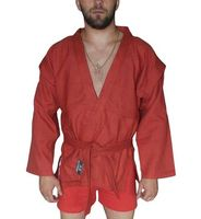 Куртка для самбо AX5 (р. 48; красная; без подкладки)