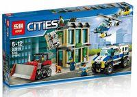 """Конструктор Cities """"Ограбление на бульдозере"""""""