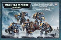 "Набор миниатюр ""Warhammer 40.000. Space Wolves Guard Terminators"" (53-07)"