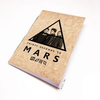 "Блокнот крафт ""30 seconds to Mars"" А7 (144)"